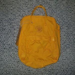Fjallraven RE-KANKEN Backpack Sunflower Yellow
